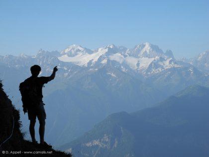 Randonnées acccompagnées dans les Alpes du nord : les Muverans.