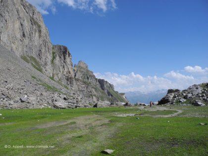 Randonnées accompagnées dans les Alpes.