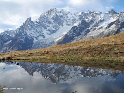 L'automne dans le massif du mont Blanc.