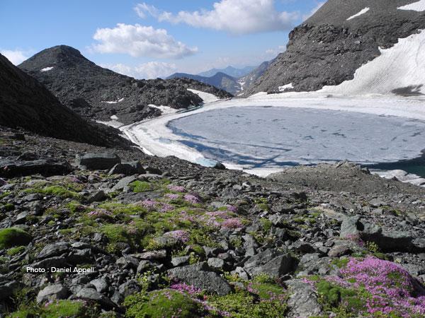 Lac d'altitude en Vanoise